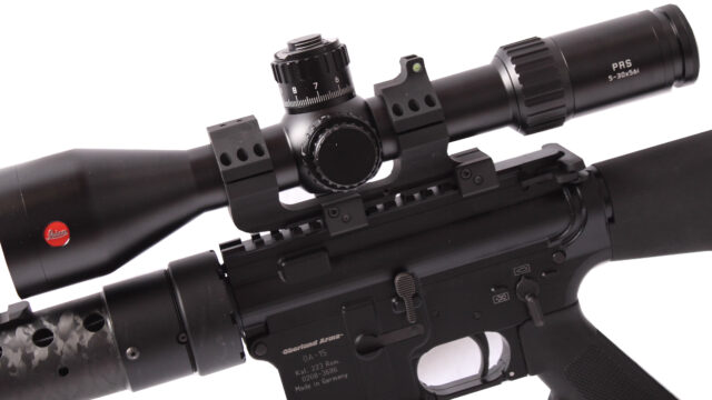 Leica PRS OA kiväärin päällä 5-30_56i