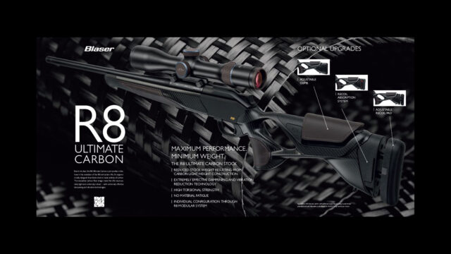 Blaser Ultimate R8 Carbon helahoito